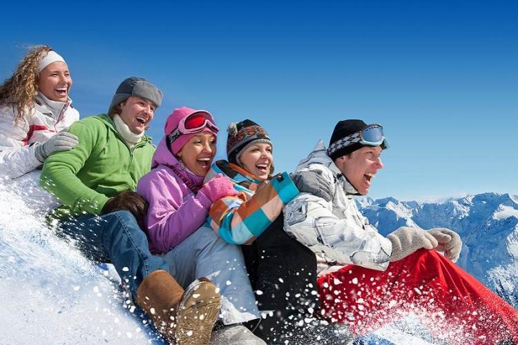Single reizen naar de Wintersport